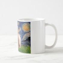 Starry Night - Cream Sphynx Cat Coffee Mug