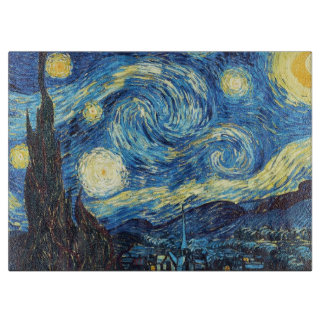 Starry Night Cutting Board