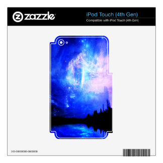 Starry Night Decals For iPod Touch 4G