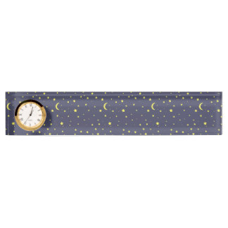 Starry Night Desk Name Plate
