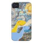 Starry Night Dinosaurs iPhone 4/ 4S Case iPhone 4 Cover