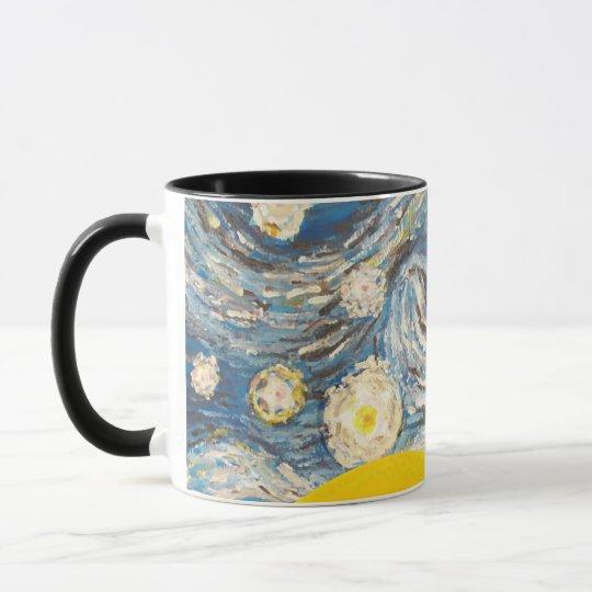 Starry Night Dinosaurs Mug