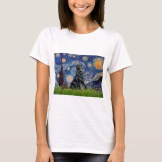 Starry Night - Flat Coated Retriever 2 T-Shirt
