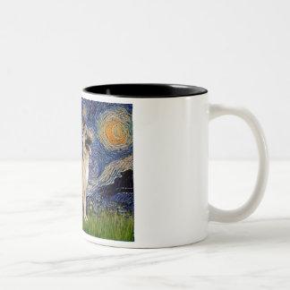Starry Night - German Shepherd 13 Mugs