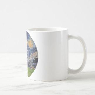 Starry Night - Golden Retriever (K) Coffee Mug