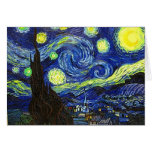 Starry Night Greeting Cards