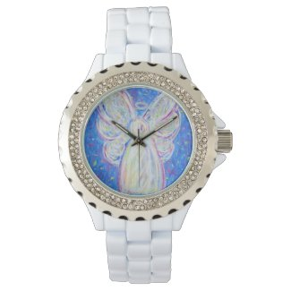 Starry Night Guardian Angel Custom Watch Design
