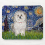Starry Night - Havanese (F) Mouse Pad