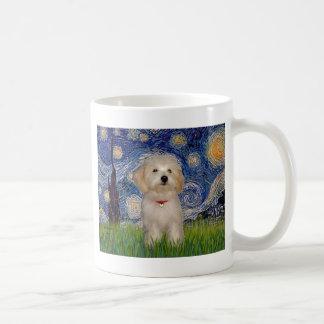 Starry Night - Havanese Puppy Coffee Mug