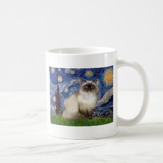 Starry Night - Himalayan cat 7 Coffee Mug