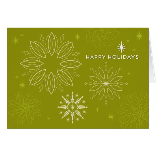 STARRY NIGHT Holiday Card
