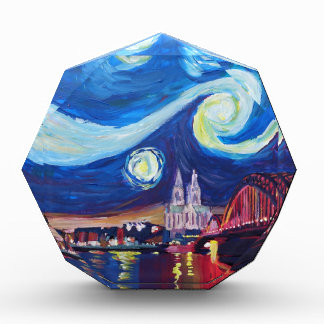 Starry night in Cologne Germany Award