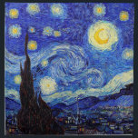 "Starry Night  Inspired Van Gogh Classic Products Napkin<br><div class=""desc"">Starry Night  Inspired Van Gogh Classic Products Moon Stars Painting Napkins</div>"