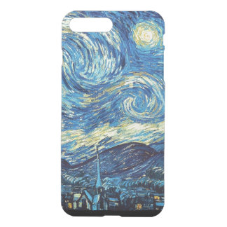 Starry Night iPhone7 Plus Clear Case