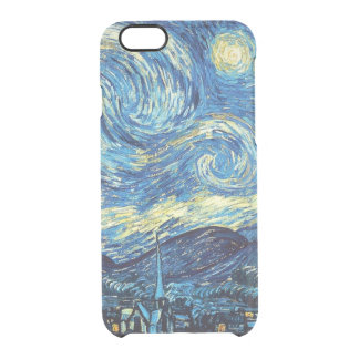 Starry Night iPhone 6/6S Clear Case