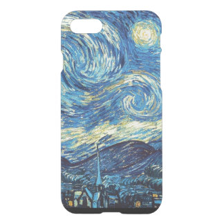 Starry Night iPhone 7 Clear Case
