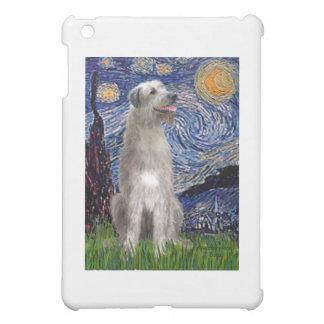 Starry Night - Irish Wolfhound iPad Mini Cover