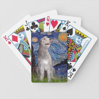 Starry Night - Irish Wolfhound Card Deck