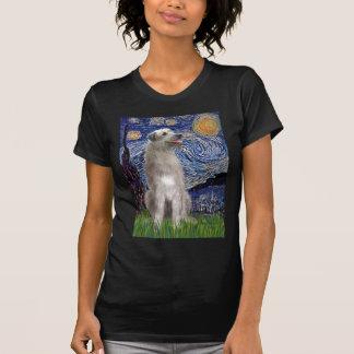 Starry Night - Irish Wolfhound T Shirts