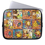 Starry Night Israel Ivory Electronic Bag Computer Sleeves