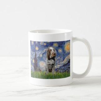 Starry Night - Italian Spinone (roan) Mugs