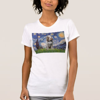 Starry Night - Italian Spinone (roan) T Shirts