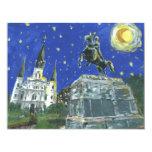 Starry Night Jackson Square Card