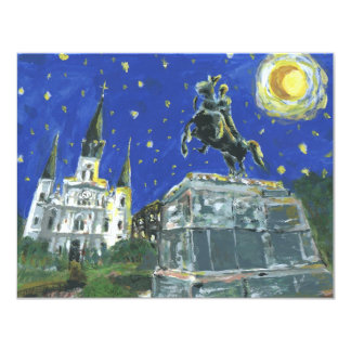 Starry Night Jackson Square Card