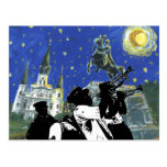 Starry Night Jackson Square Post Card