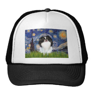Starry Night - Japanese Chin 3 Trucker Hat