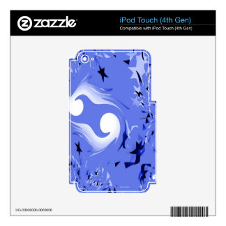 Starry Night.jpg Decal For iPod Touch 4G