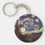 Starry Night Keychain