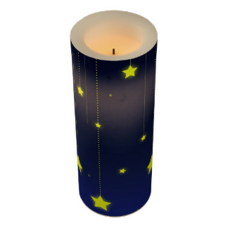 Starry Night LED Candle