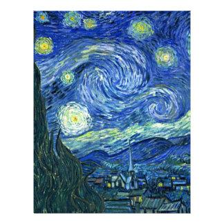 Starry Night Letterhead