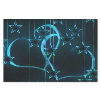 Starry Night Lovers Tissue Paper