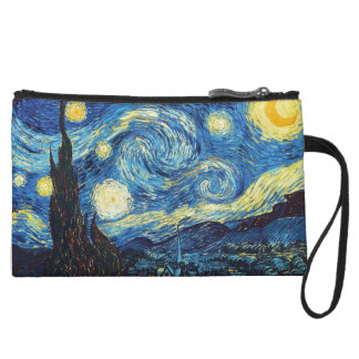 Starry Night Mini Clutch Wristlet