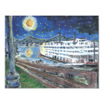Starry Night Mississippi Queen 4.25x5.5 Paper Invitation Card