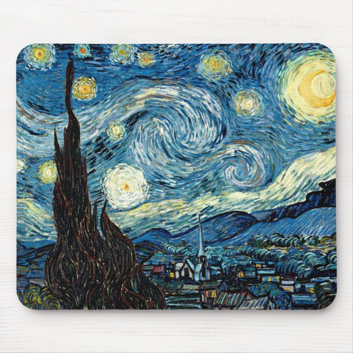 Starry Night - mouse pad