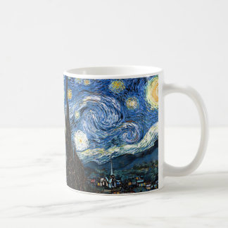 Starry Night Classic White Coffee Mug