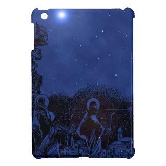 Starry Night Nativity iPad Mini Case