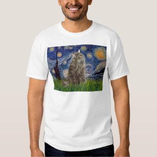 Starry Night - Norwegian Forest Cat Shirt