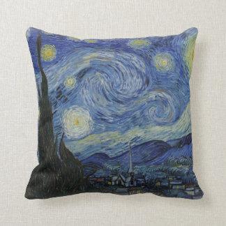 starry night of van gogh pillows