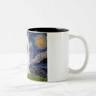 Starry Night - Old English #3 Mug