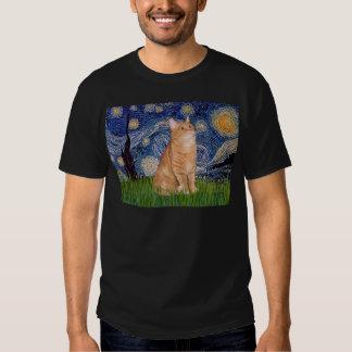 Starry Night - Orange Tabby 46 T-shirt