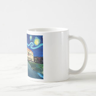 Starry Night over Colloseum in Rome Italy Coffee Mug