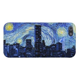 Starry Night Over New York City iPhone SE/5/5s Case