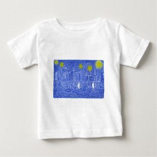 Starry Night Over New York...Who Is John Galt? Baby T-Shirt