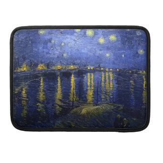 Starry Night Over Rhone van Gogh Lap Top Sleeve MacBook Pro Sleeve