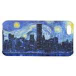 Starry Night Over the City iPhone 5C Cover