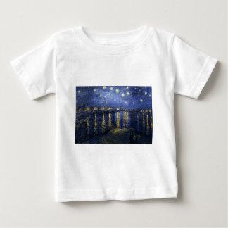 Starry Night Over the Rhone Baby T-Shirt
